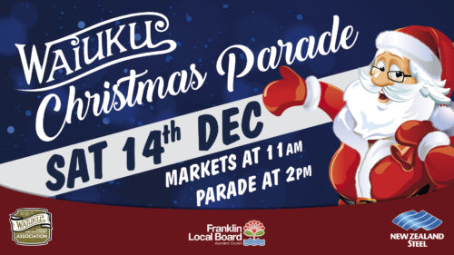 Waiuku NZ Steel Christmas Parade 2019 @ Waiuku town centre | Waiuku | Auckland | New Zealand