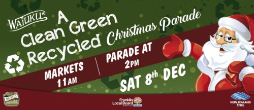 Waiuku NZ Steel Christmas Parade 2018 @ Waiuku Town Centre | Waiuku | Auckland | New Zealand
