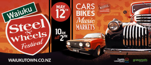 Waiuku Steel 'n' Wheels 2019 @ Waiuku Town Centre